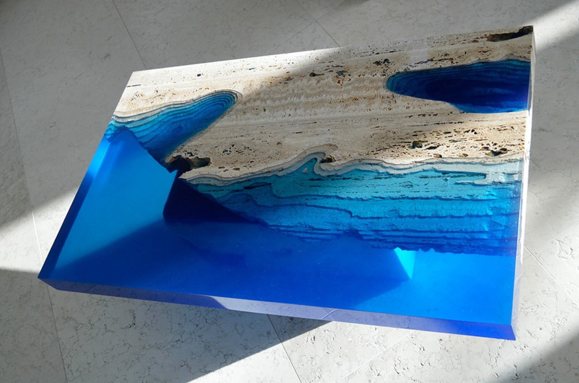 Granite-benchtop-company_Check-Out-These-Surreal-Marble-&-Resin-Tables 4