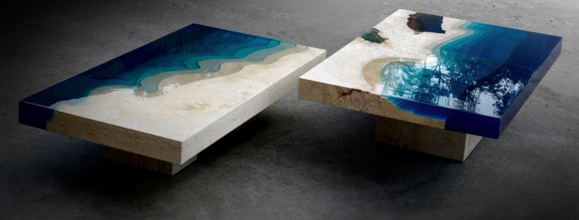 Granite-benchtop-company_Check-Out-These-Surreal-Marble-&-Resin-Tables