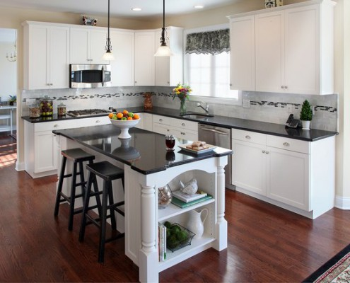 Granites For White Kitchen Cabinetry Gbc